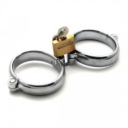 Handcuffs Metal Deluxe Padlock