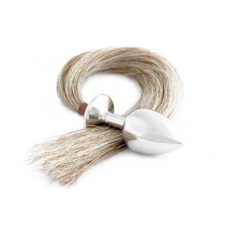 Intimate jewellery - Rosebud - Anal Plug - HorseBud - Ponytail