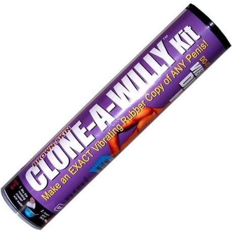 Clone A Willy kit - Make a mould of his penis - vibrator, chocolate, candle, soap